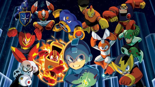 Mega Man Legacy Collection hombre versus Maquina