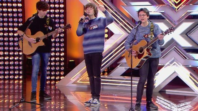 Factor X : El grupo Malva conmueve a Risto Mejide y le saca un beso