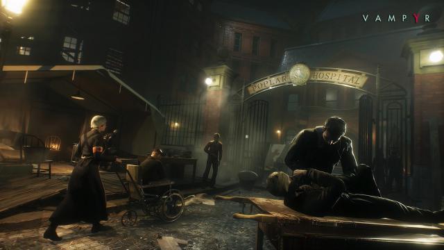 Vampyr: El próximo juego de rol de acción de Dontnod Entertainment