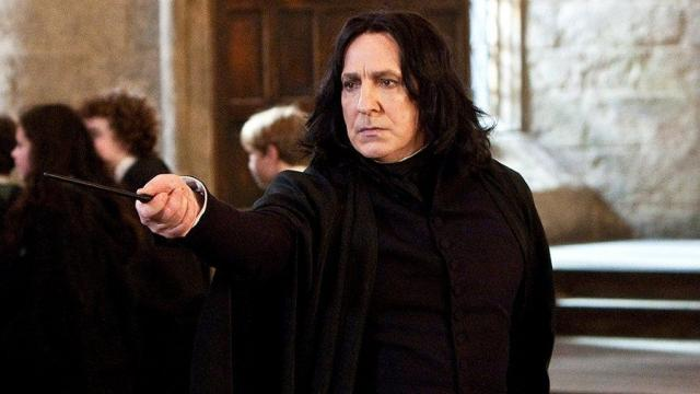 Harry Potter: Alan Rickman estaba no estaba contento con su personaje