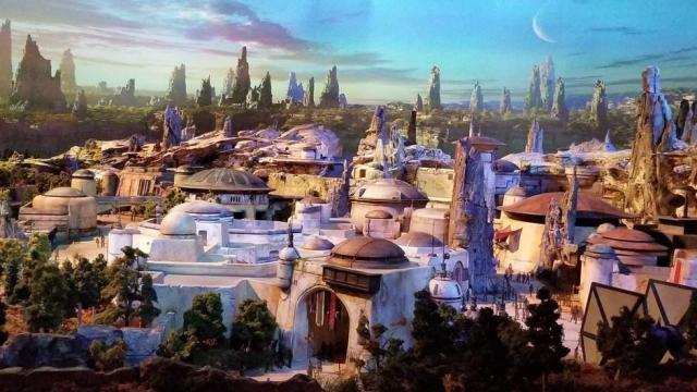 Los parques de Disney revelan la nueva guerra de las galaxias: Galaxy's Edge