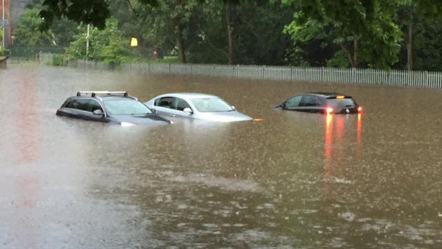 Man in 80s dies in Walsall as flash floods hit Midlands