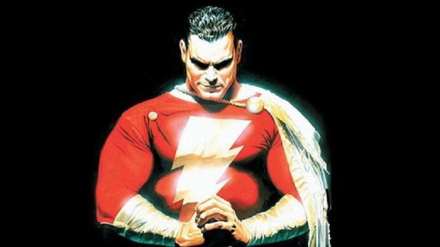 Fan-Made Shazam: Cartel de película Incluye Cyborg