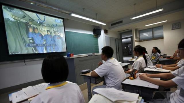 Las escuelas chinas están probando AI que califica papeles