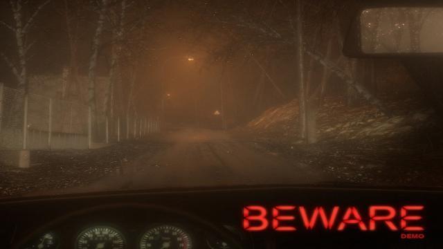Horror Driving Game 'Beware' lanza la demo inicial