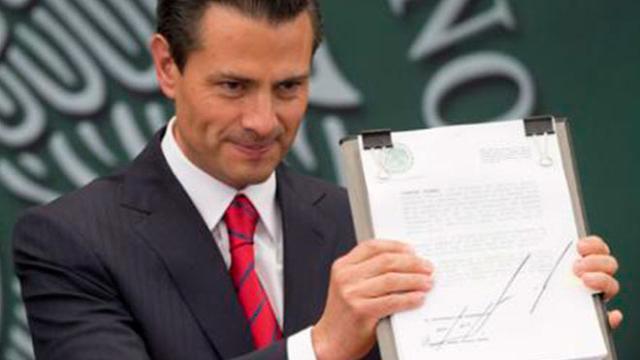 La última misión de Enrique Peña Nieto