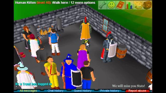 Los servidores y los problemas RuneScape Classic