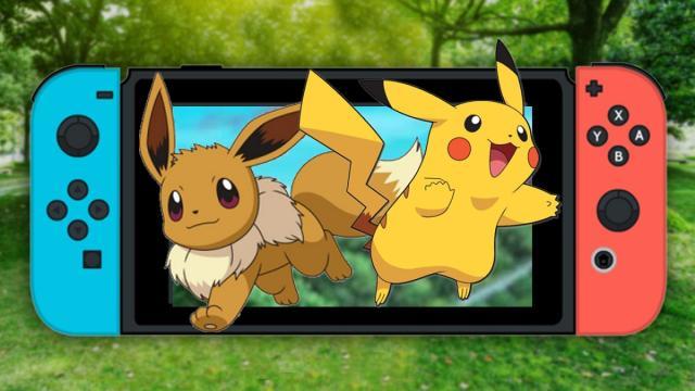 Pokemon Let's Go Pikachu y Eevee anunciados para Nintendo Switch