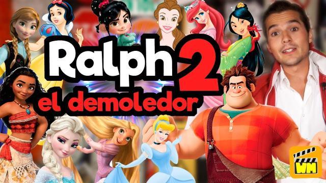 La princesas de Disney en 'Ralph el demoledor'