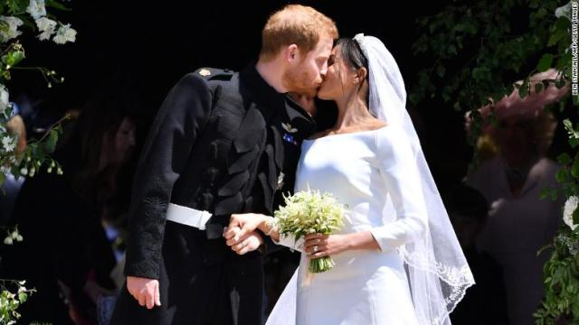 Prince Harry and Meghan's wedding was third most watched