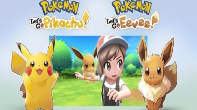 Pokémon Let's Go: anunciado para el cambio con Coop Multijugador
