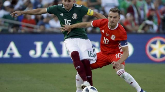 Amistoso previo al mundial Rusia 2018, México vs Gales