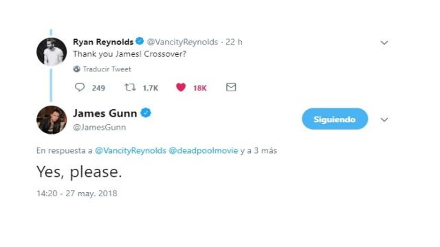 Ryan Reynolds quiere un crossover con Guardianes de la Galaxia