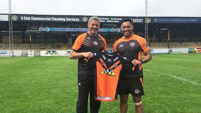Castleford announces signing of fullback Quentin Laulu-Togaga'e