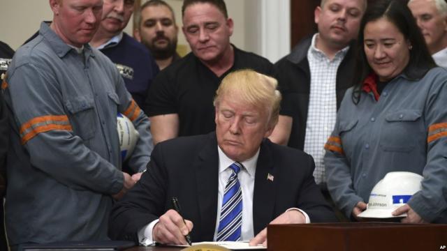 La mano dura de Donald Trump en contra de la Unión europea