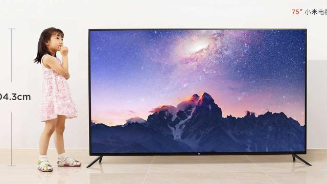 Xiaomi Mi TV 4 con pantalla HDR 4K de 75 pulgadas