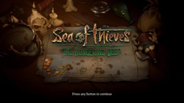 Sea of Thieves da a conocer nueva actualización