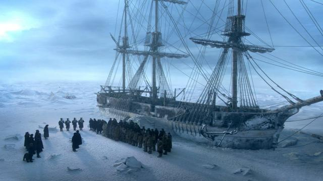 'The Terror': Desolación entre el hielo y la locura