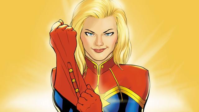 Captain Marvel termino todas las escenas de Avengers 4