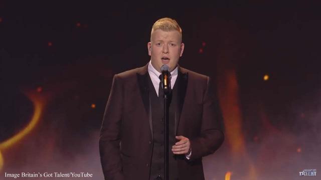 Gruffydd Wyn brings fire to the 'Britain's Got Talent' semi-finals