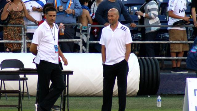 L'annonce surprise du départ de Zidane
