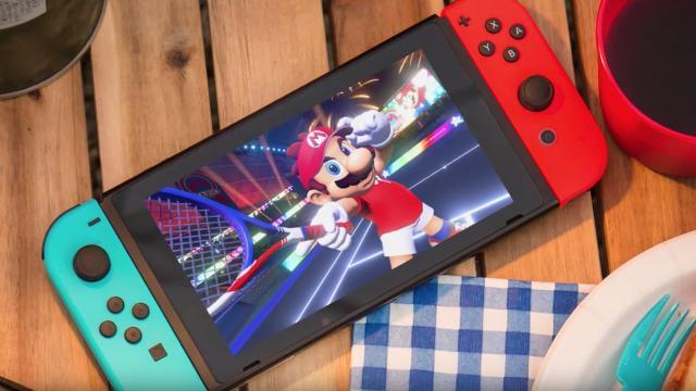 Mario Tennis Aces se lanzará para Nintendo Switch el 22 de junio