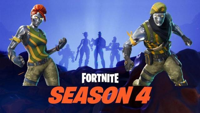 Temporada 4 de Fortnite: Battle Royale está en camino en este momento