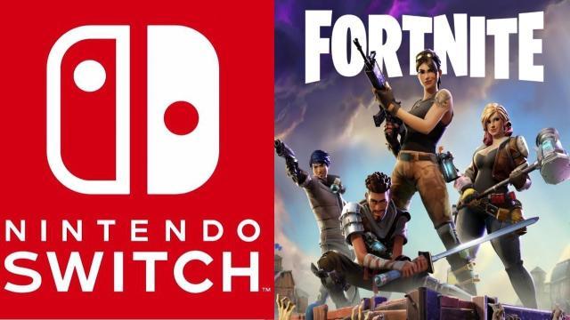 Fortnite puede llegar al Nintendo Switch