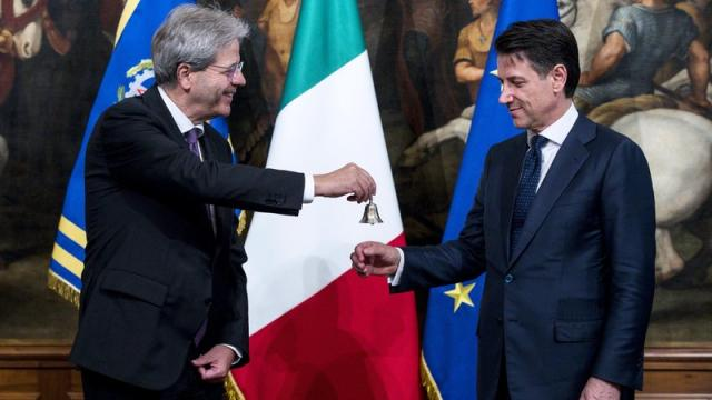 Giuseppe Conte sworn in as Italian prime minister