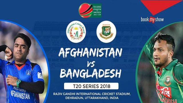 Bangladesh vs Afghanistan 1st T20I: GTV live cricket streaming info