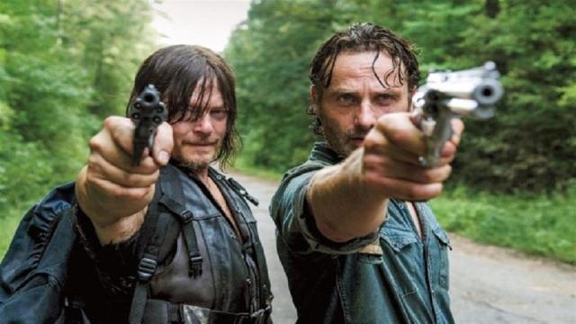 'The Walking Dead' Rick ya había sugerido su salida
