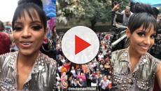 Gleici registra presença na Parada Gay