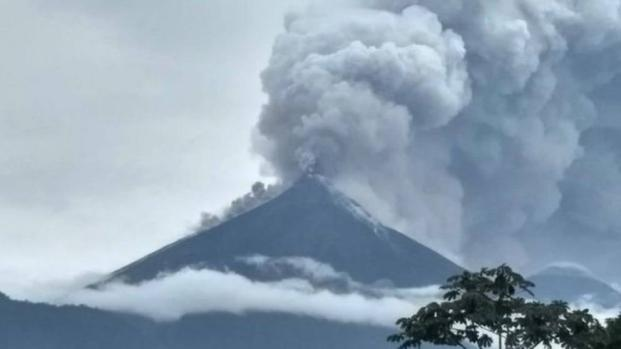 Guatemala: l'eruzione del Vulcano del Fuego