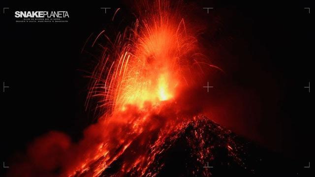 El mortal volcán de Guatemala y el Kilauea