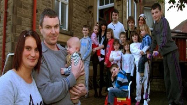 Inghilterra, 21esimo figlio per la famiglia Radford ma non è record assoluto