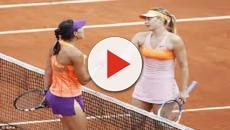 VIDEO: Muguruza y Sharapova avanzan a cuartos de Roland Garros sin jugar