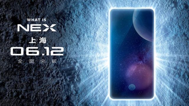 Vivo Nex Teaser confirma cámara emergente Selfie