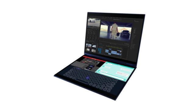 Asus Precog: viene la computadora portátil con doble pantalla y IA