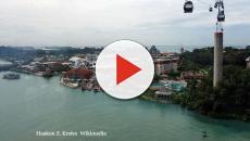 SINGAPORE/ Trump-Kim summit at Sentosa is just a week away