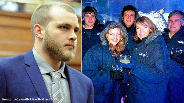 Henri van Breda, South African family axe murderer gets triple life sentence