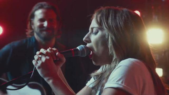 Lady Gaga and Bradley Cooper in 'A Star Is Born' first trailer