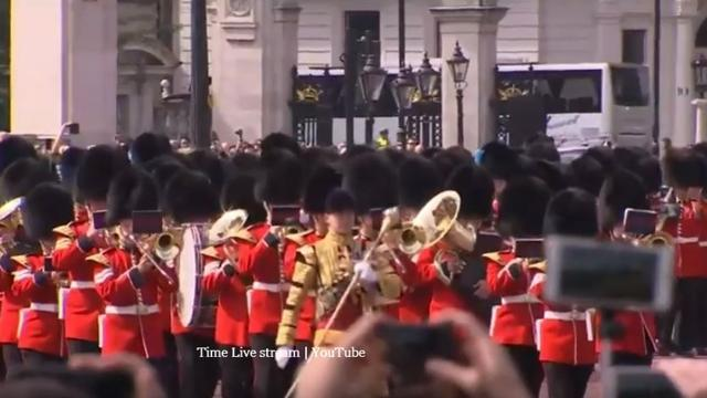 The Duke and Duchess of Sussex attended the Trooping the Colour parade