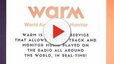 WARM radio monitoring service in photos