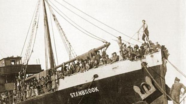 Stanbrook y los refugiados españoles