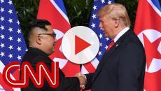 Presidente Trump conta um pouco como foi a conversa com Kim