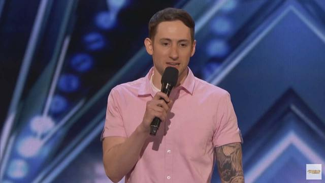 Standup comedian with Tourette syndrome steals show on 'America's Got Talent'