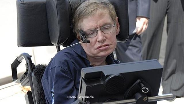 Stephen Hawking's posthumous message via ESA to space is about 'love'