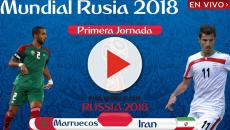 Irán le gana a Marruecos en su primer partido