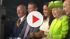 Meghan Markle and Queen Elizabeth laughed a lot on their first outing together