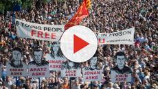 VIDEO: En rechazo a la sentencia de Alsasua, miles en Pamplona toman las calles
